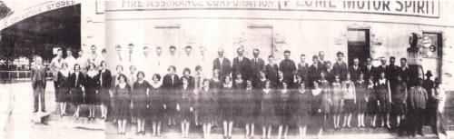 1929-1930 Staff photo