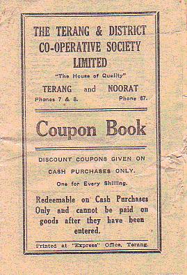 1950'sCoupon book